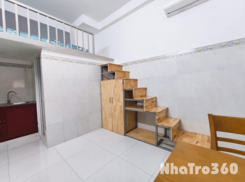 Phòng có gác + nội thất Trường Chinh - Tân Bình, sau lưng ETown Tân Bình