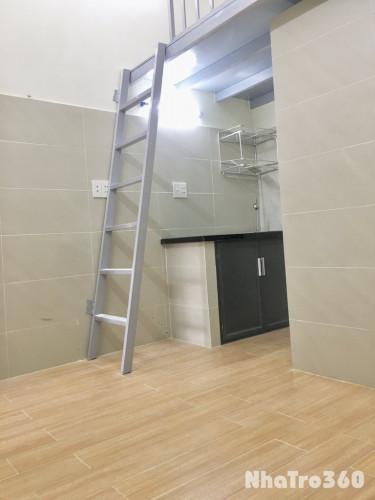 Trống 1 phòng duy nhất - mới xây có gác máy lạnh đối diện ĐH Công Nghiệp 4