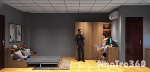 Phòng mới xây full nội thất cao cấp mặt tiền Thống NHất, Gò Vấp